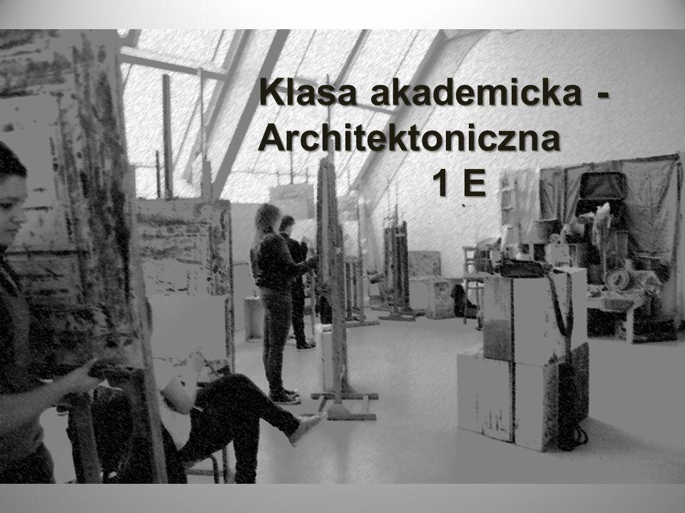 Klasa akademicka -Architektoniczna