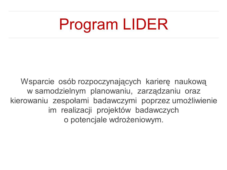 Program LIDER