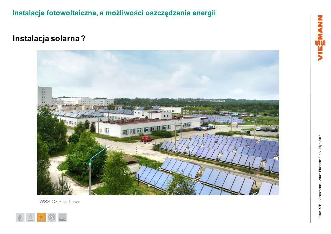 Instalacja solarna WSS Częstochowa 21 21 21 21 21