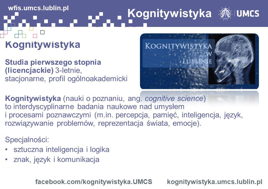 Kognitywistyka wfis.umcs.lublin.pl