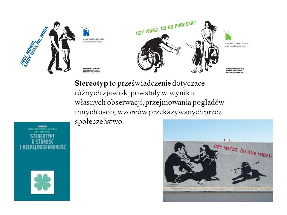 Stereotyp to przeświadczenie dotyczące różnych zjawisk, powstały w wyniku własnych obserwacji, przejmowania poglądów innych osób, wzorców przekazywanych przez społeczeństwo.