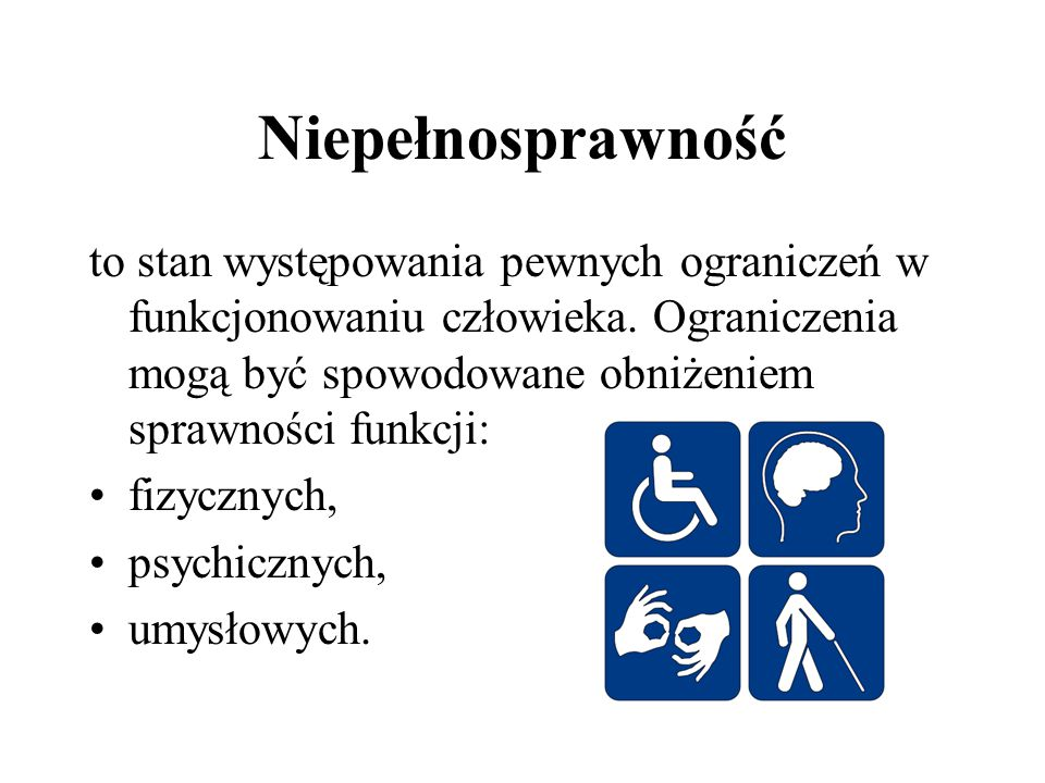 Niepełnosprawność