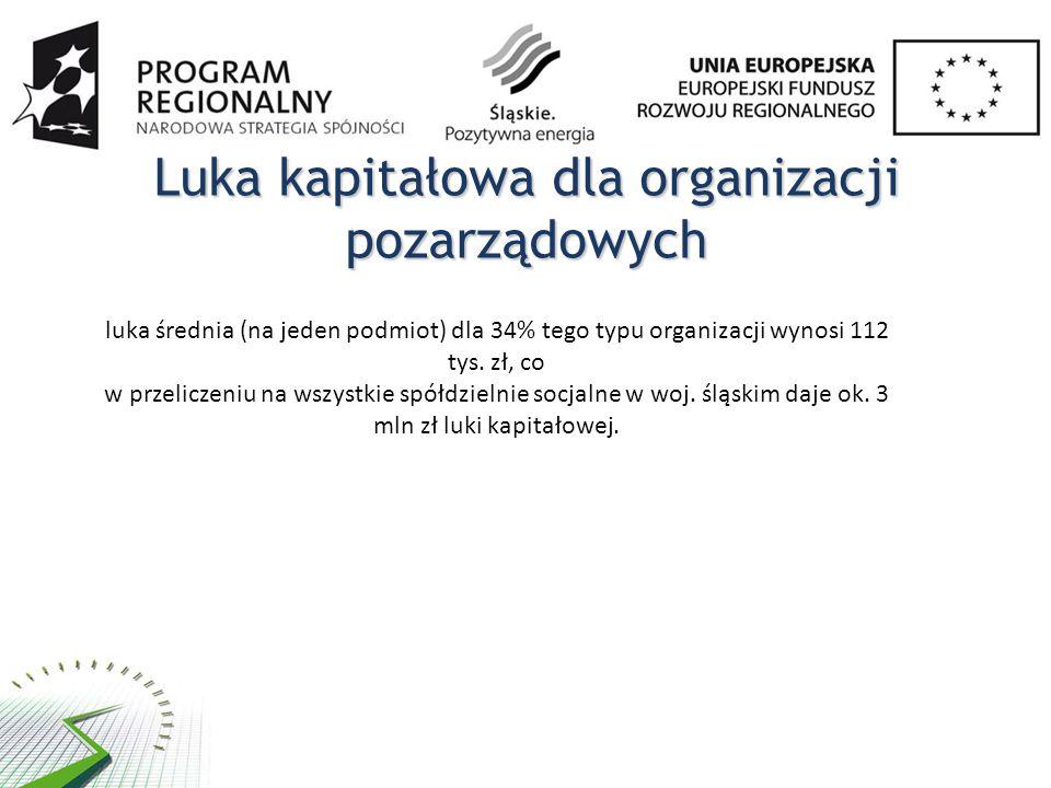 Luka kapitałowa dla organizacji pozarządowych