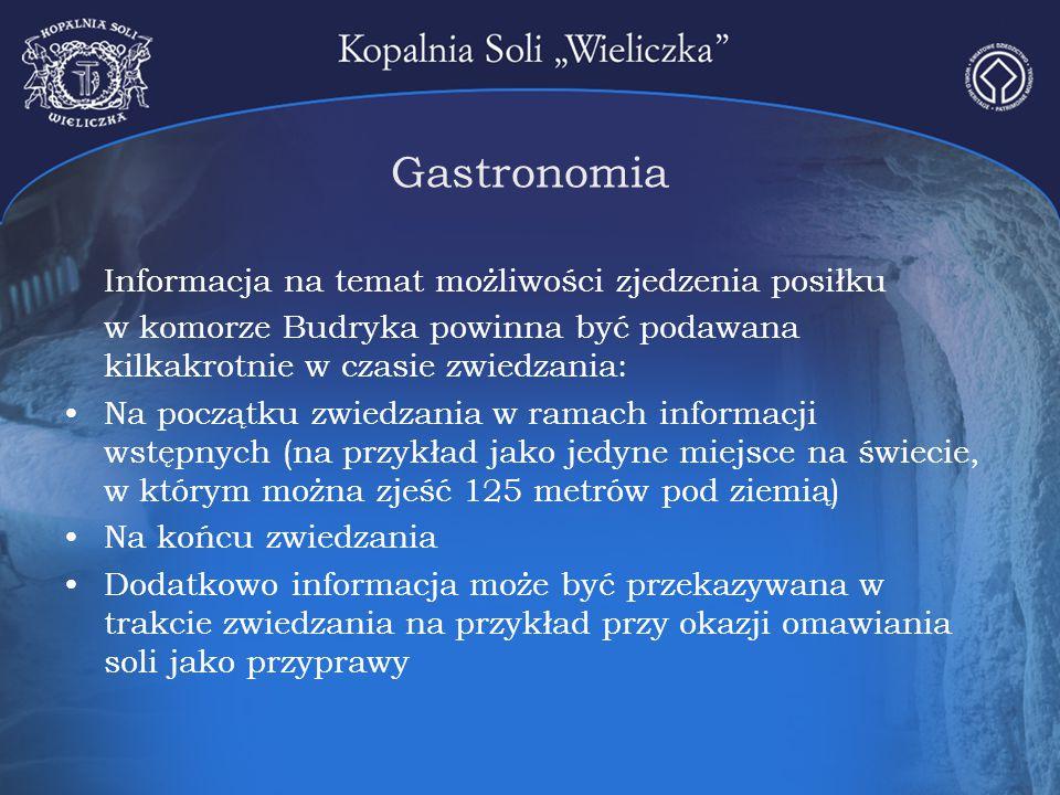 Gastronomia Informacja na temat możliwości zjedzenia posiłku