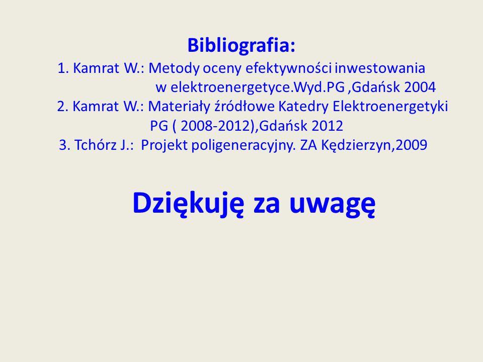 Bibliografia: 1. Kamrat W