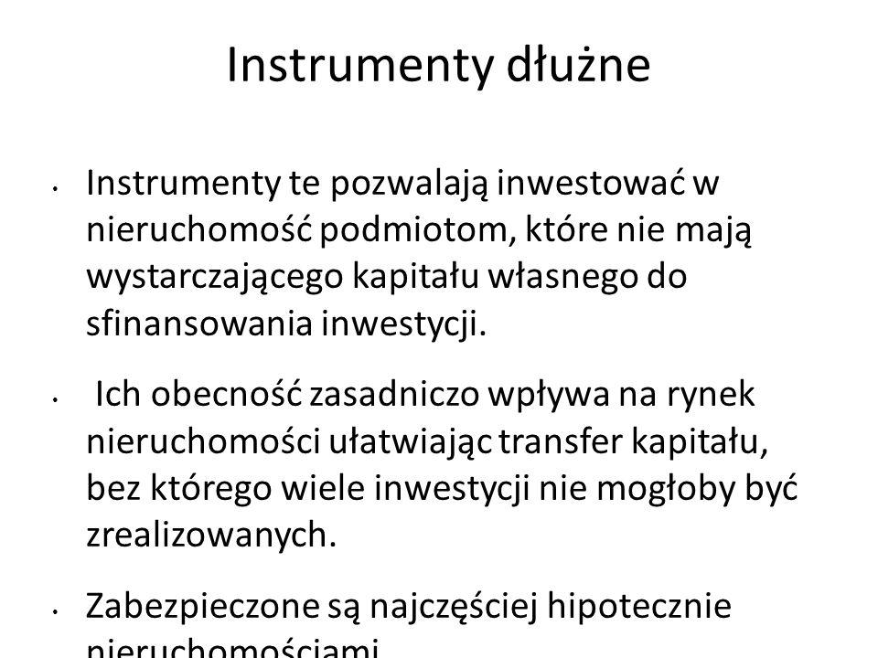 Instrumenty dłużne