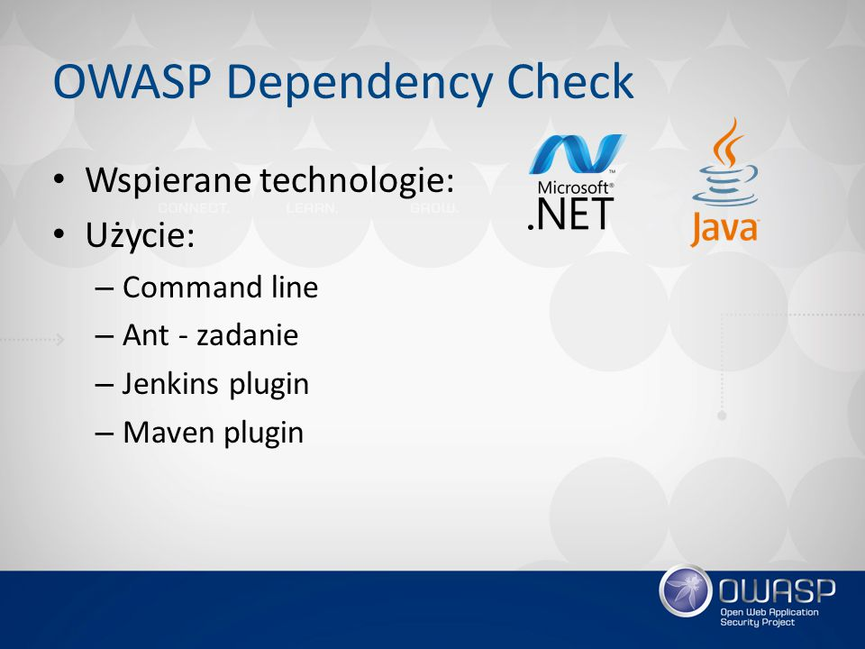 OWASP Dependency Check