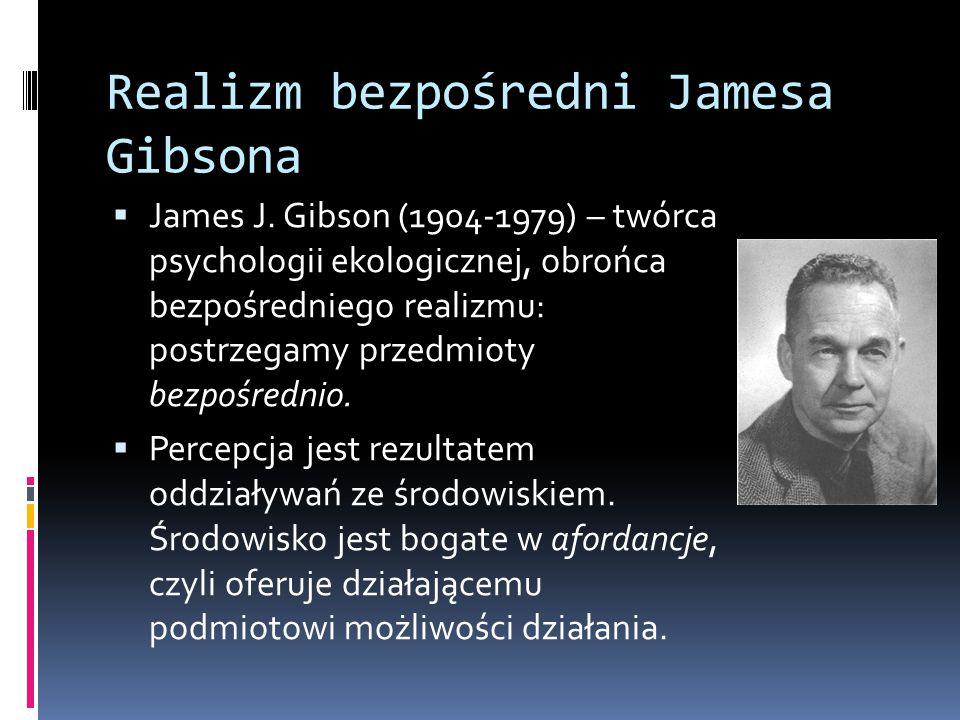 Realizm bezpośredni Jamesa Gibsona