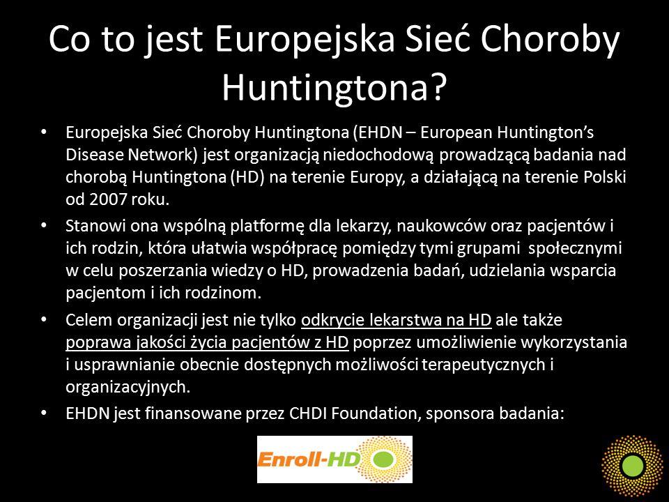 Co to jest Europejska Sieć Choroby Huntingtona