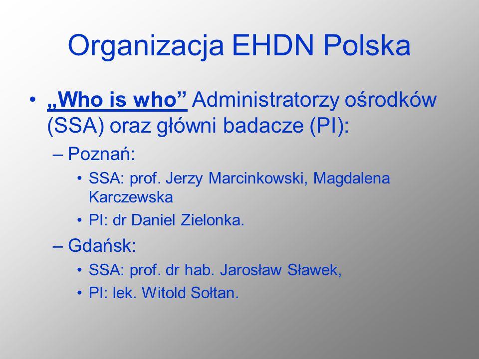 Organizacja EHDN Polska