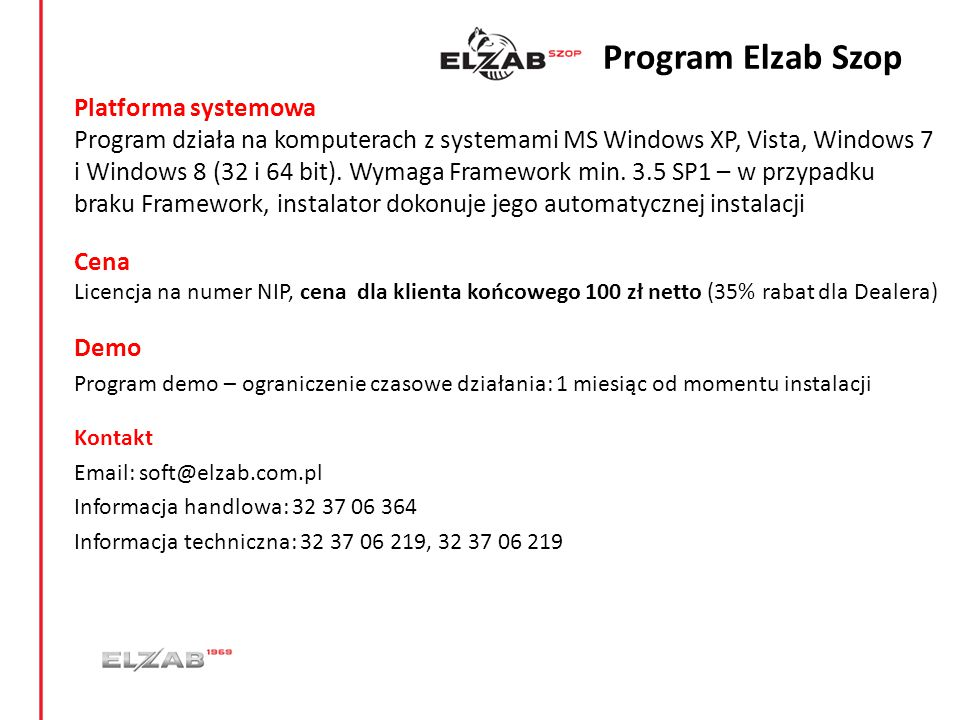 Program Elzab Szop