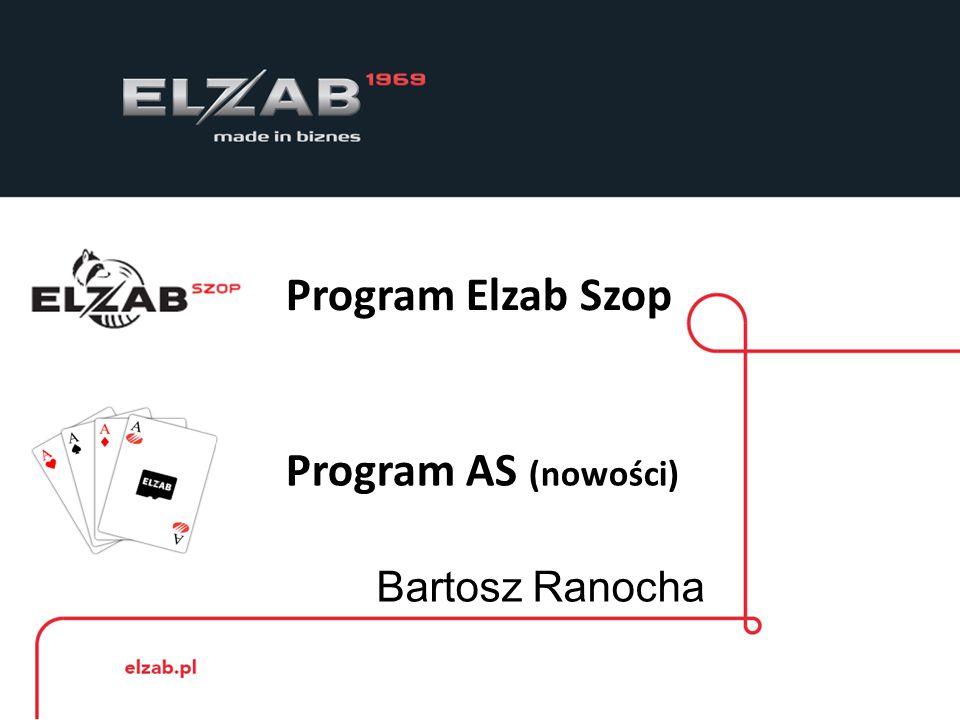Program Elzab Szop Program AS (nowości) Bartosz Ranocha