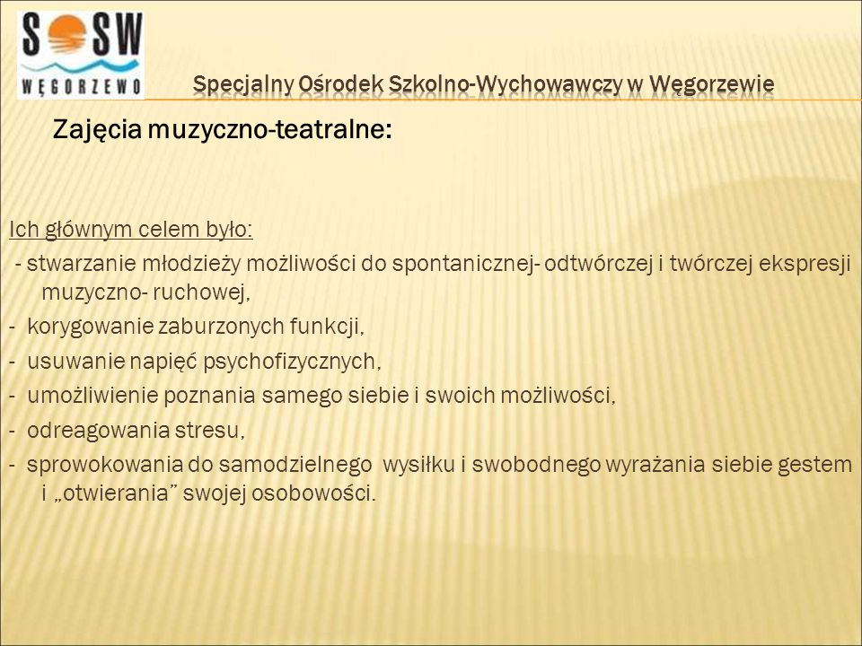 Specjalny Ośrodek Szkolno-Wychowawczy w Węgorzewie