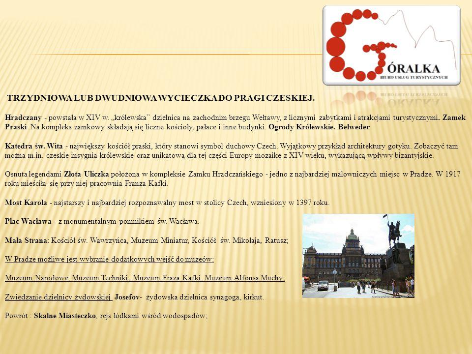 W Pradze możliwe jest wybranie dodatkowych wejść do muzeów: