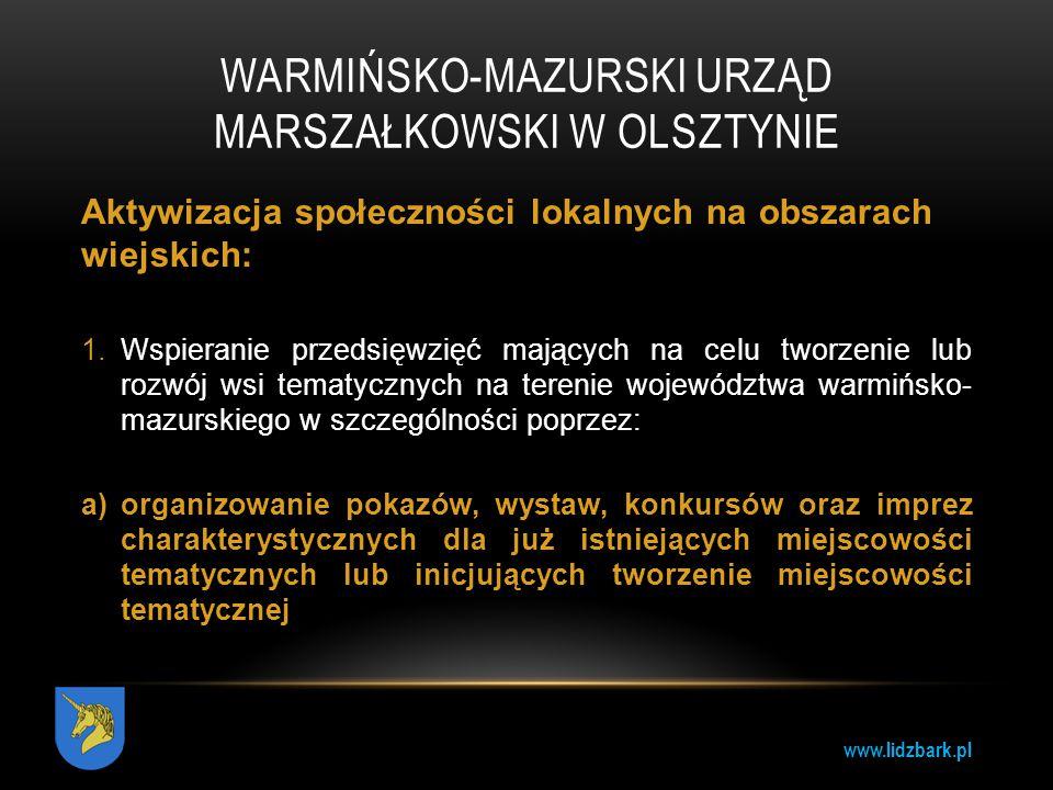 Warmińsko-Mazurski Urząd Marszałkowski w Olsztynie