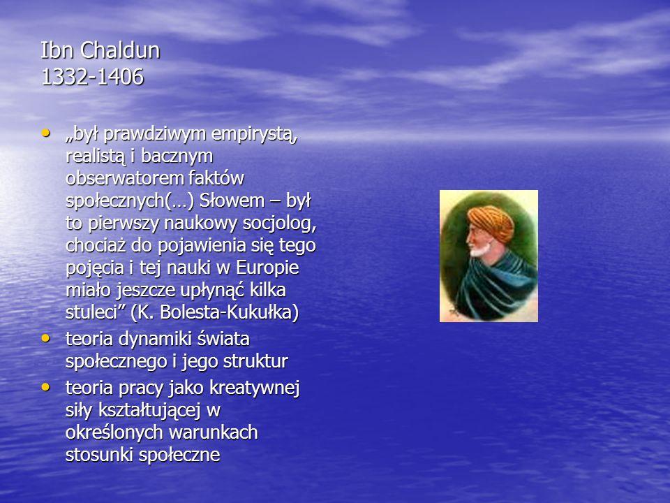 Ibn Chaldun 1332-1406