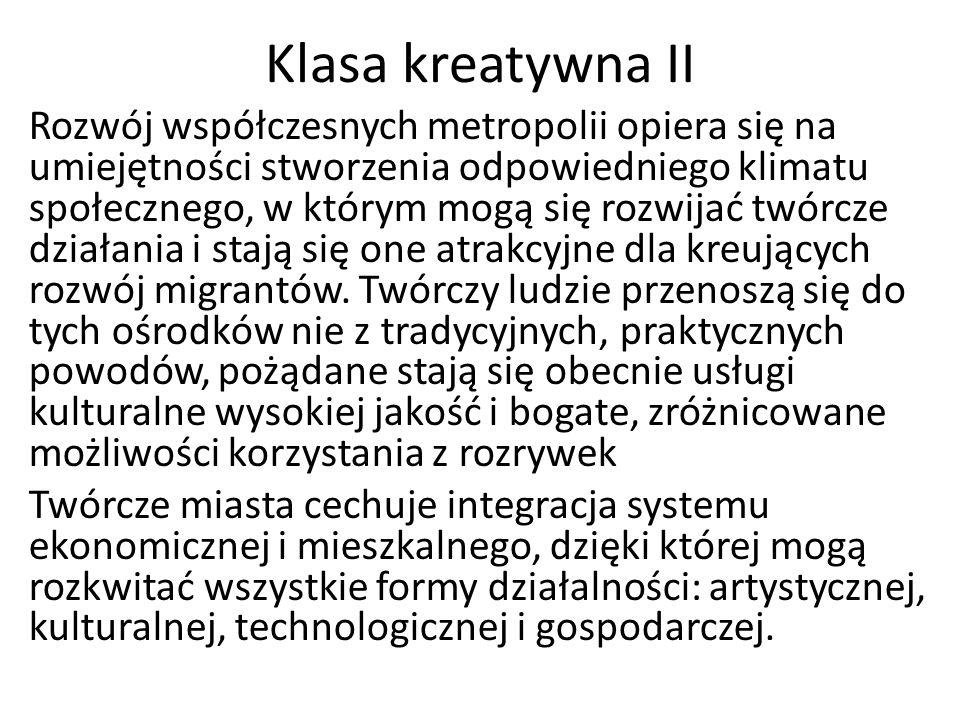 Klasa kreatywna II