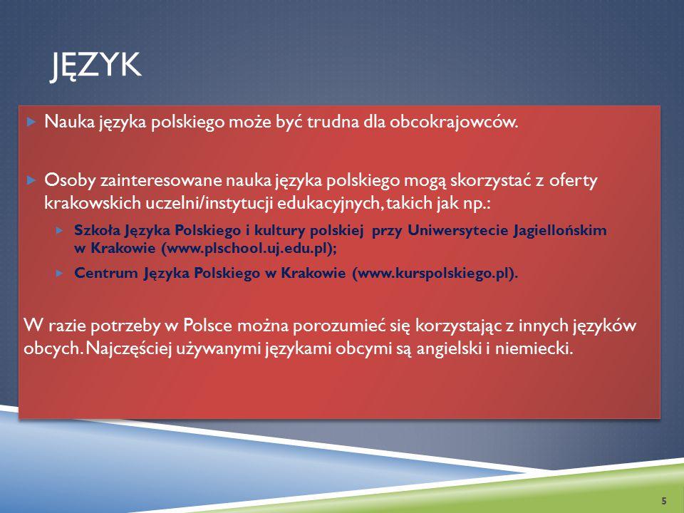 JĘZYK Nauka języka polskiego może być trudna dla obcokrajowców.