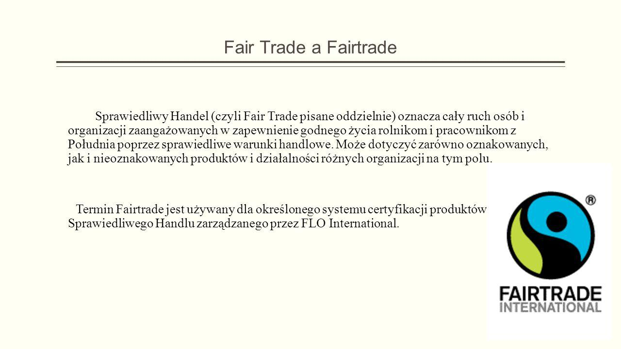 Fair Trade a Fairtrade