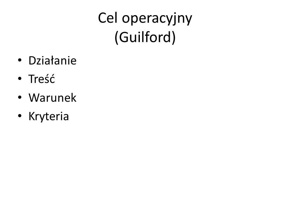 Cel operacyjny (Guilford)