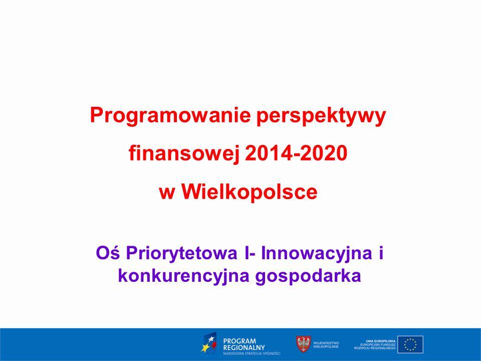 Programowanie perspektywy finansowej 2014-2020 w Wielkopolsce