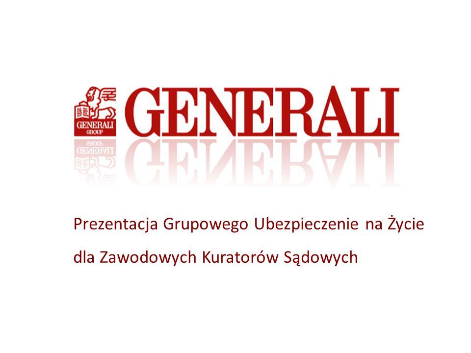 Plan Prezentacji Agenda Prezentacja Grupy Generali w Polsce Oferta