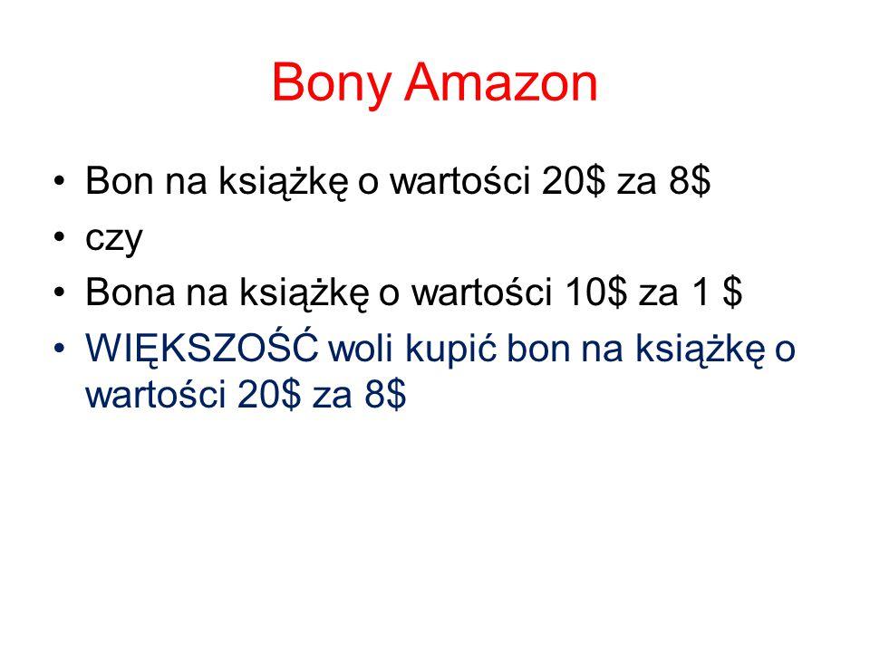 Bony Amazon Bon na książkę o wartości 20$ za 8$ czy