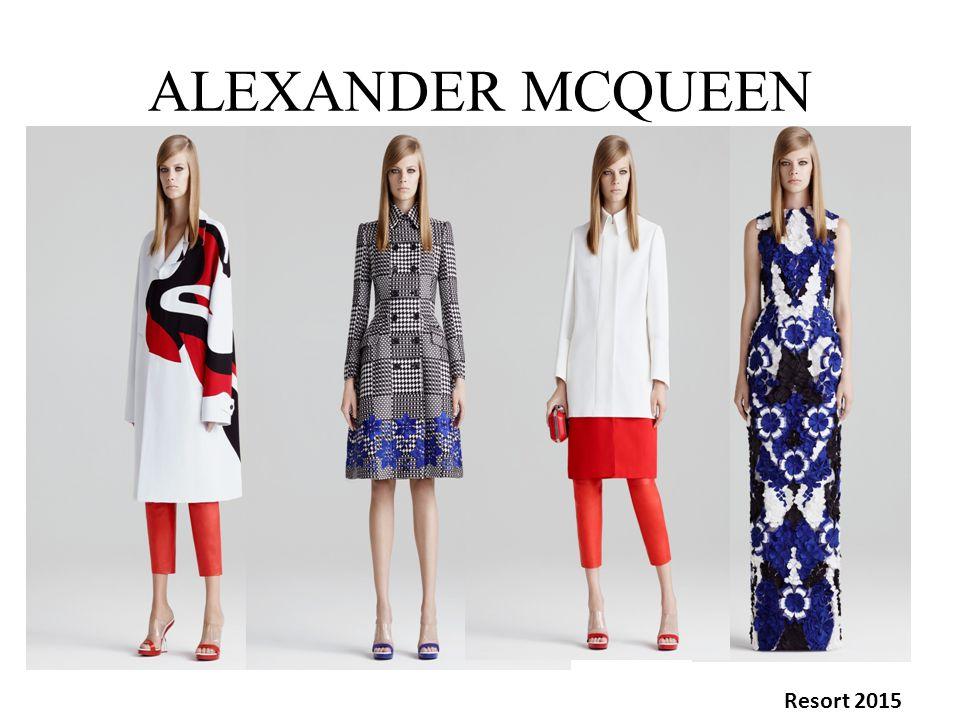 ALEXANDER MCQUEEN Resort 2015