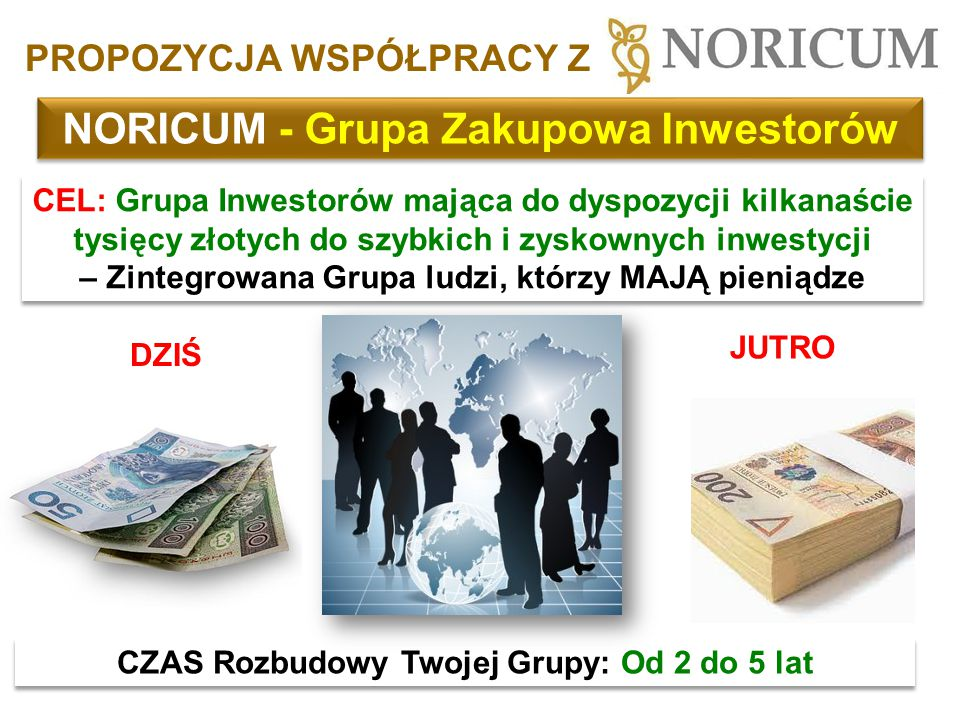 NORICUM - Grupa Zakupowa Inwestorów