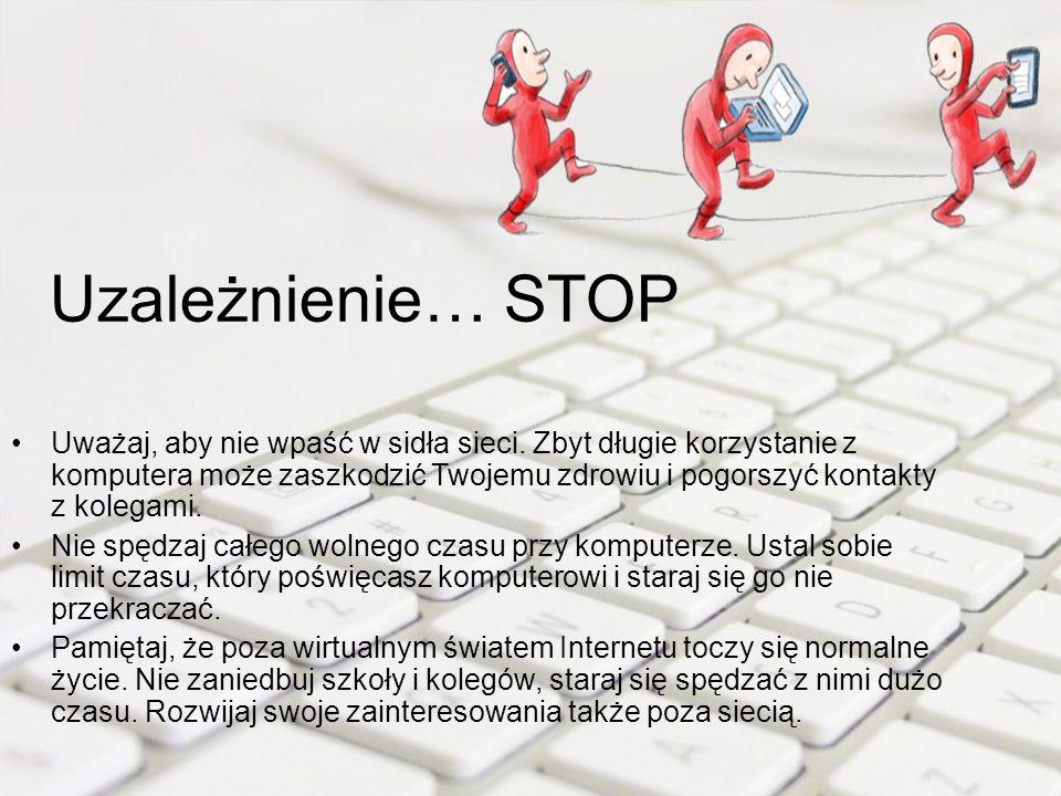 Uzależnienie… STOP