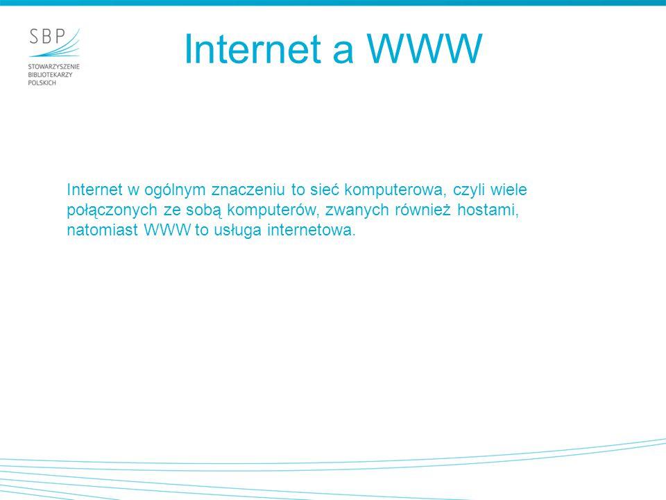 Internet a WWW