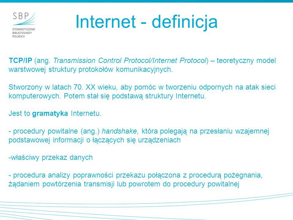 Internet - definicja