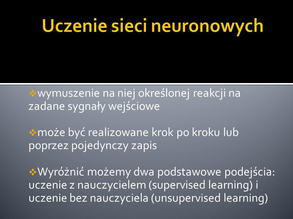 Uczenie sieci neuronowych