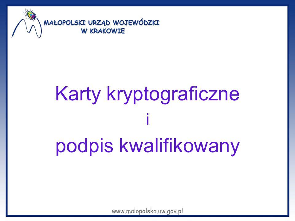 Karty kryptograficzne