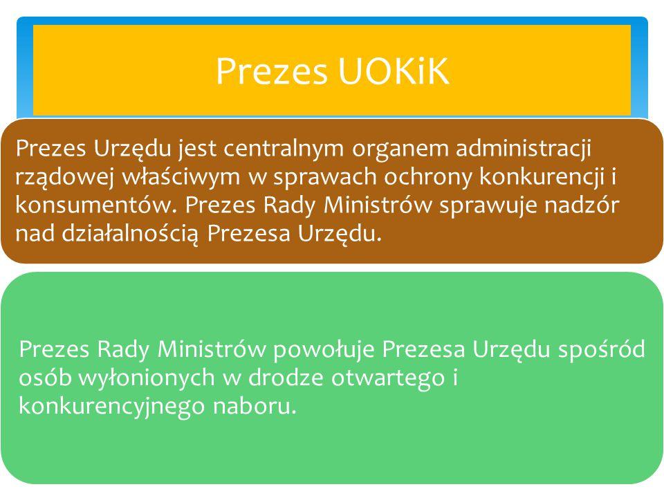 Prezes UOKiK