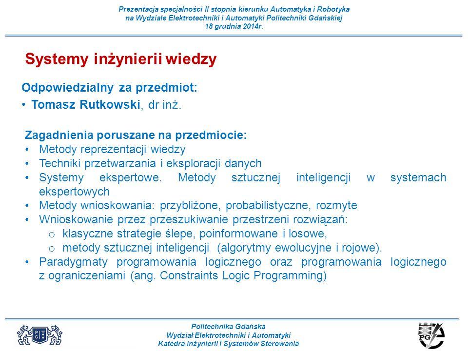 Systemy inżynierii wiedzy