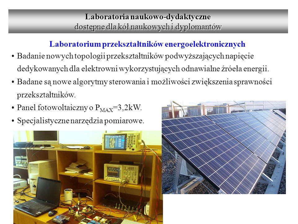 Laboratoria naukowo-dydaktyczne