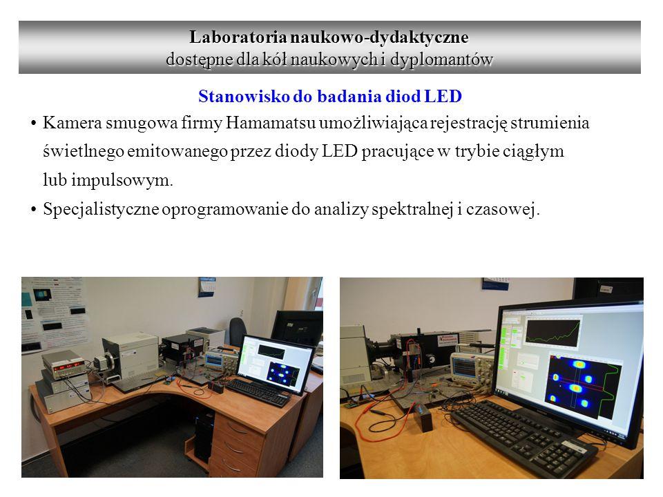 Laboratoria naukowo-dydaktyczne Stanowisko do badania diod LED