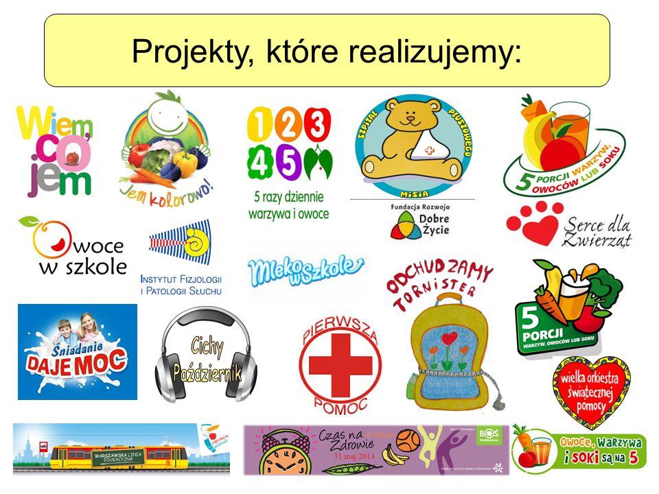 Projekty, które realizujemy: