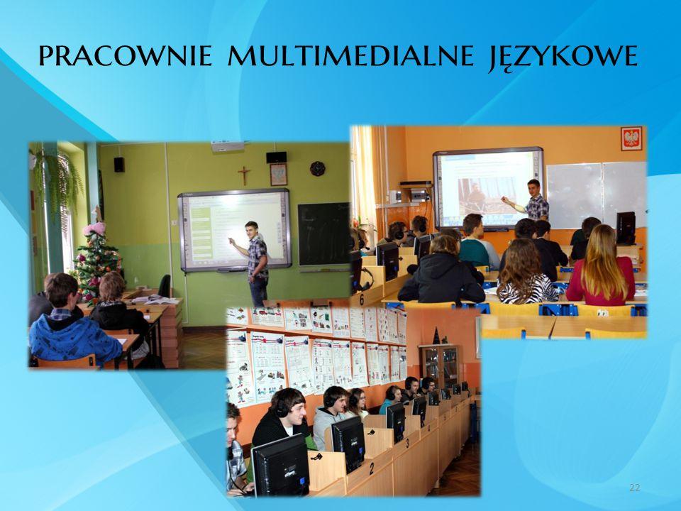 pracownie multimedialne językowe