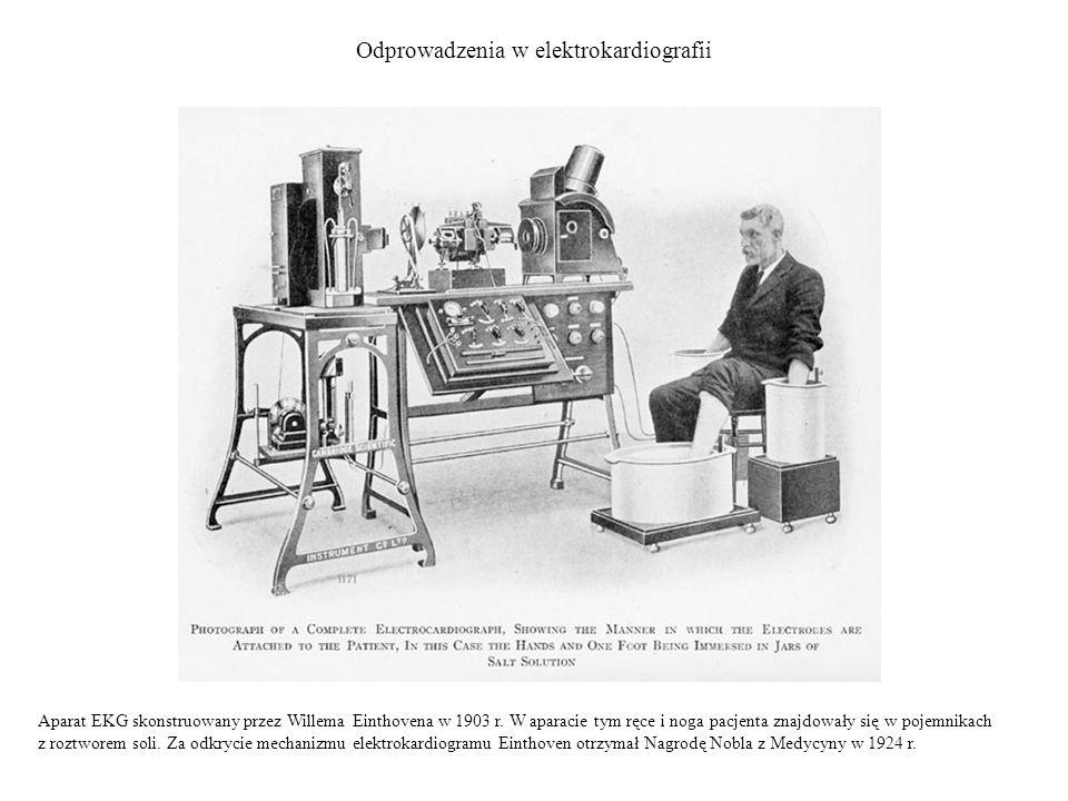 Odprowadzenia w elektrokardiografii