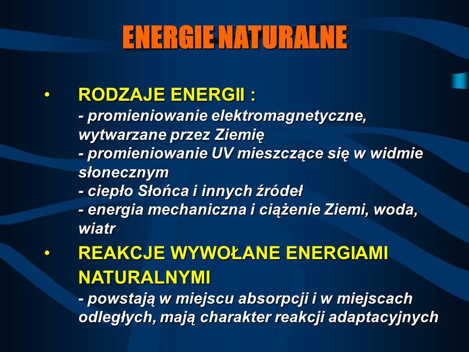 ENERGIE NATURALNE