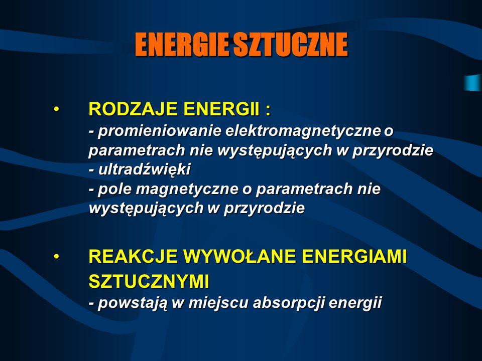 ENERGIE SZTUCZNE