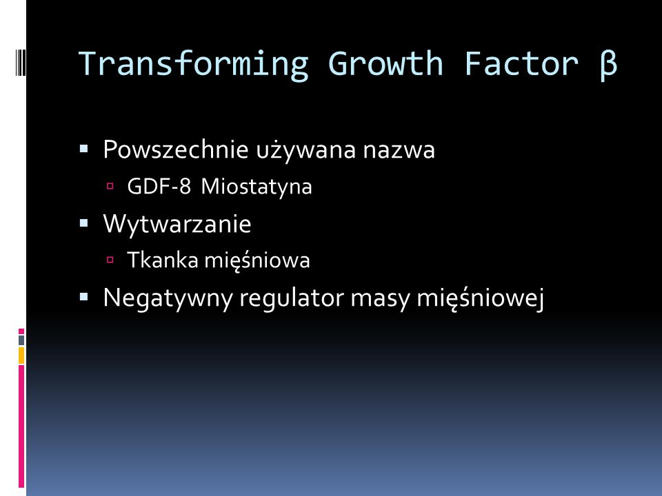 Transforming Growth Factor β