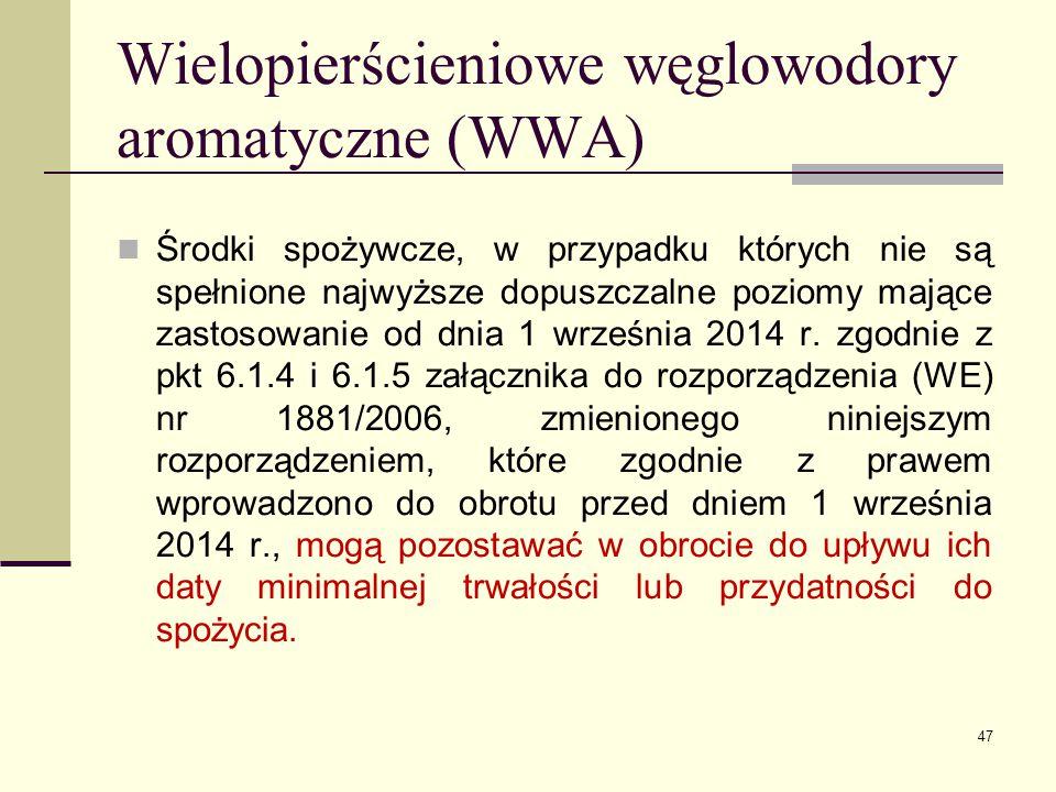 Wielopierścieniowe węglowodory aromatyczne (WWA)