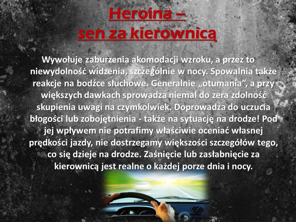 Heroina – sen za kierownicą