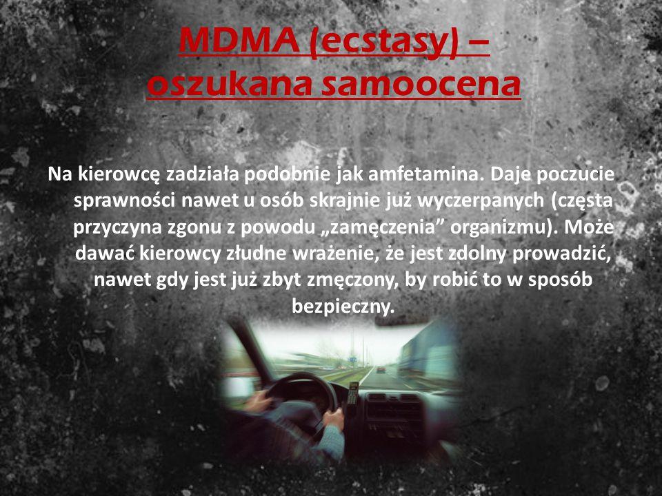 MDMA (ecstasy) – oszukana samoocena