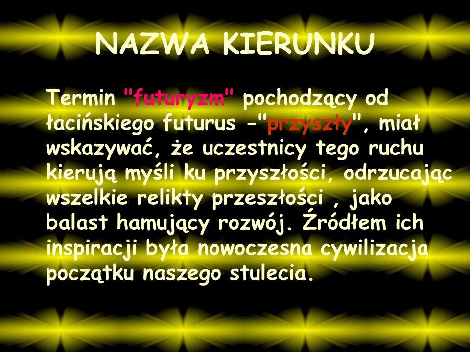 NAZWA KIERUNKU
