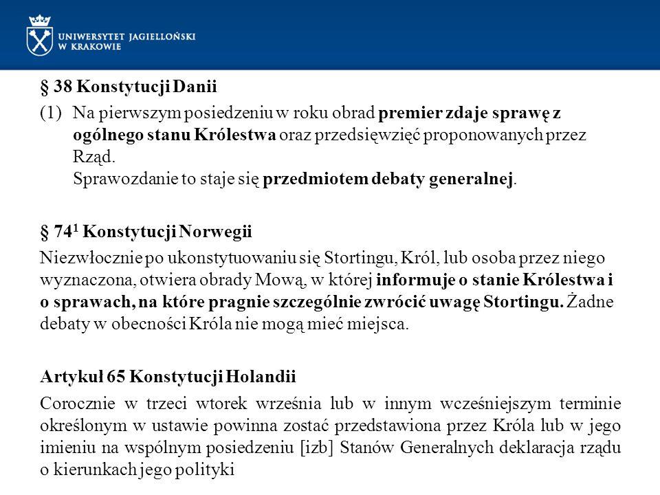 § 38 Konstytucji Danii
