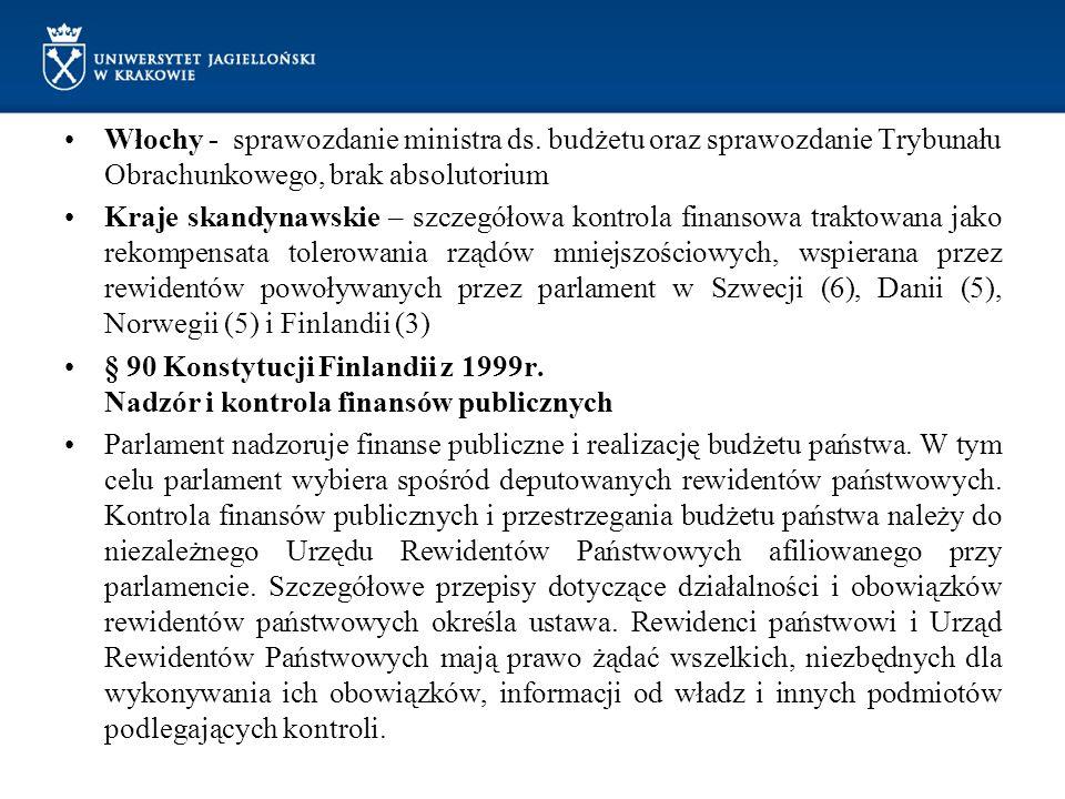 Włochy - sprawozdanie ministra ds